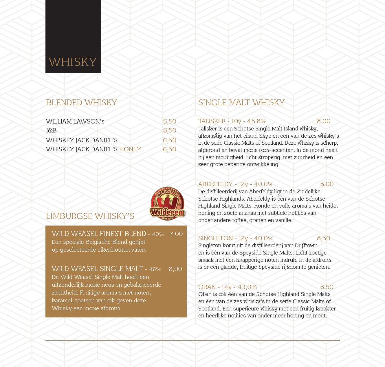 menukaart 13