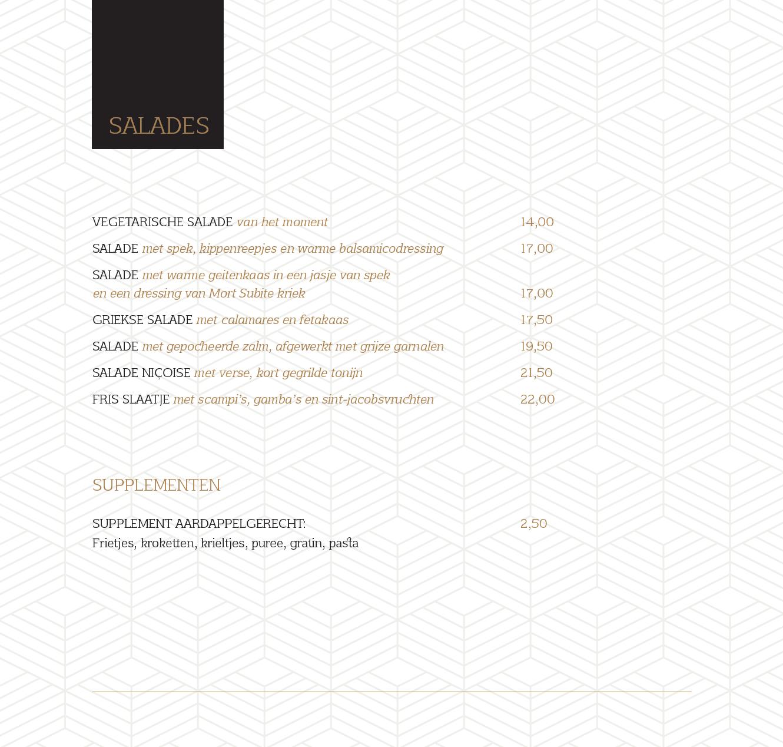 menukaart 20